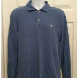 Southern Tide Men's Shirt M 38 Blue Long Sleeve